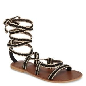 New TopShop Wrap around Lace-up Sandals